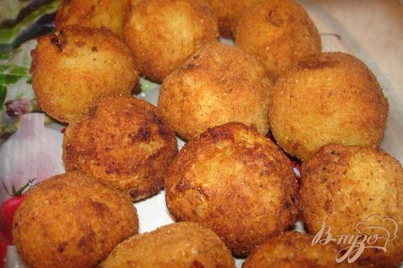 Фото приготовление рецепта: Картофельные крокеты шаг №3