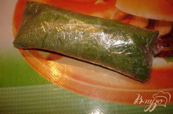 Фото приготовление рецепта: Заготовка на зиму листьев для долмы шаг №4
