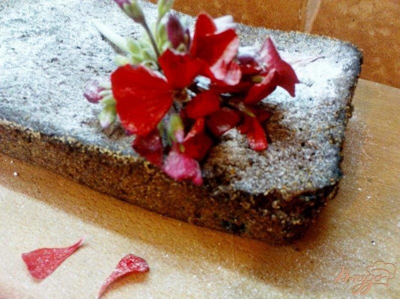 Фото приготовление рецепта: Пирог с черникой шаг №7