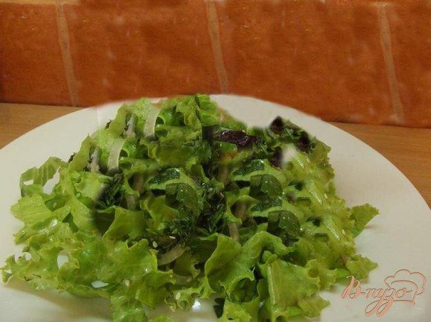 Рецепт Французский салат из зелени