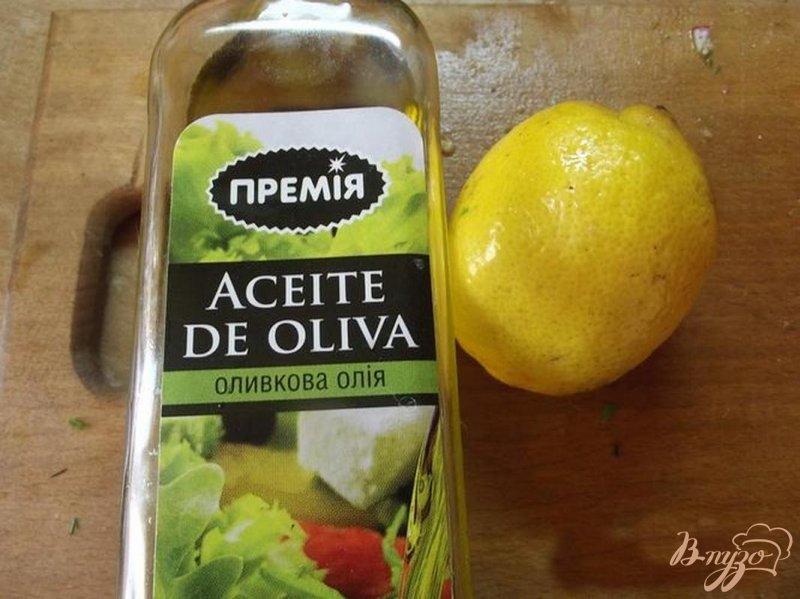 Фото приготовление рецепта: Салат с сельдереем шаг №4