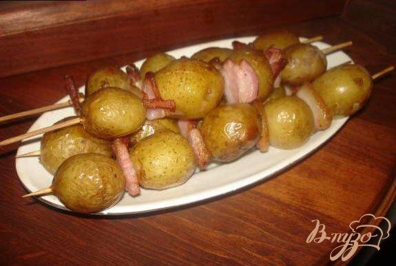 фото рецепта: Картофельные шашлычки