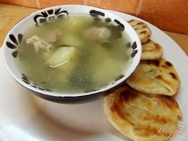 Фото приготовление рецепта: Суп из барашка с сельдереем шаг №8