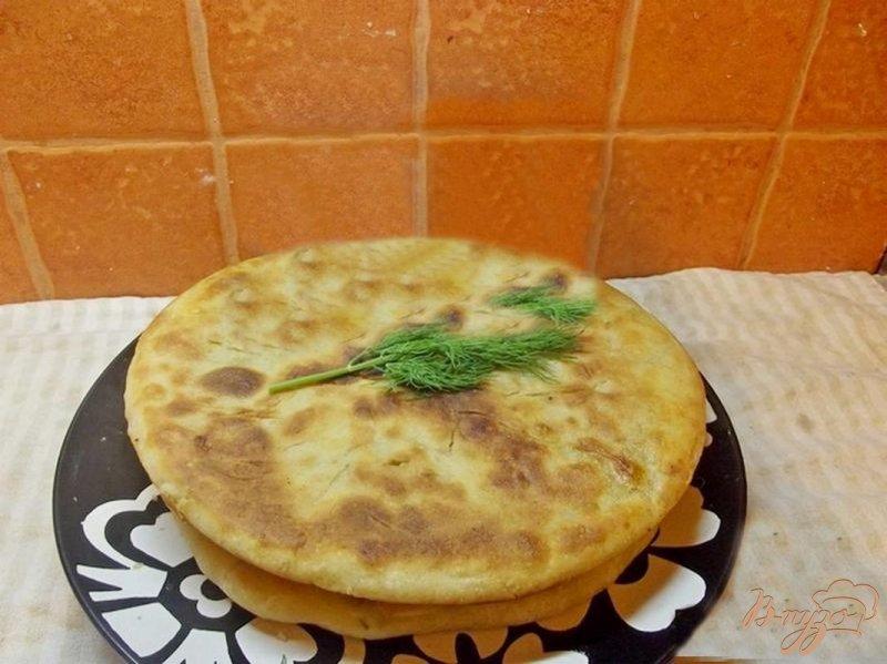 Фото приготовление рецепта: Хачапури шаг №10