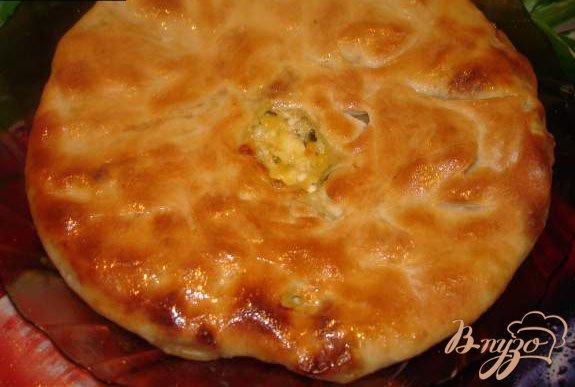 Фото приготовление рецепта: Осетинский пирог шаг №9