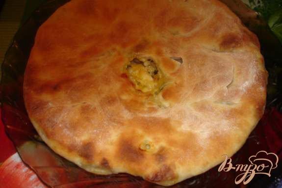 Фото приготовление рецепта: Осетинский пирог шаг №8