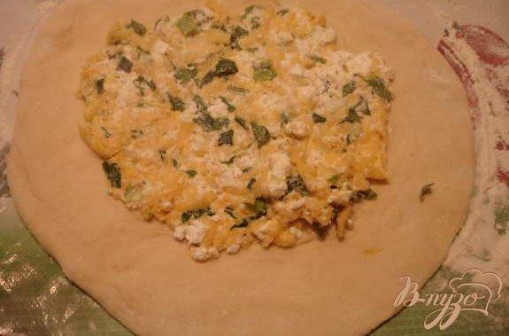 Фото приготовление рецепта: Осетинский пирог шаг №6