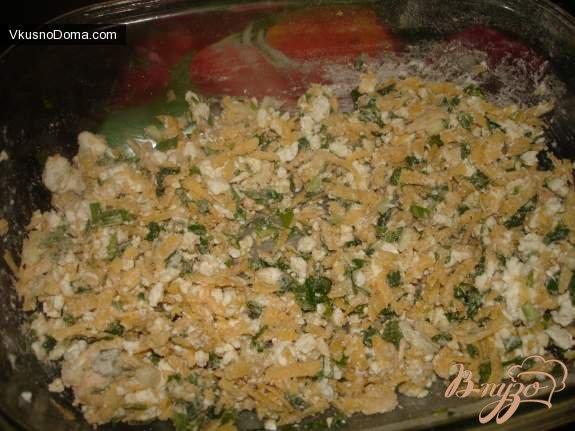 Фото приготовление рецепта: Осетинский пирог шаг №4