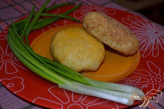 Рецепт Картофельные зразы с печенью