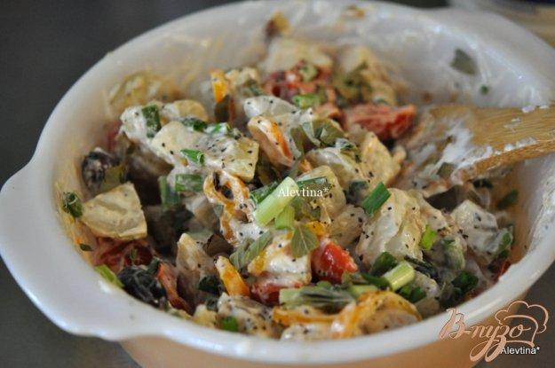 фото рецепта: Средиземноморский  картофельный салат