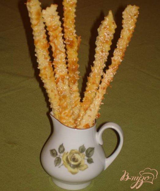 фото рецепта: Сырные палочки под пиво и просто так