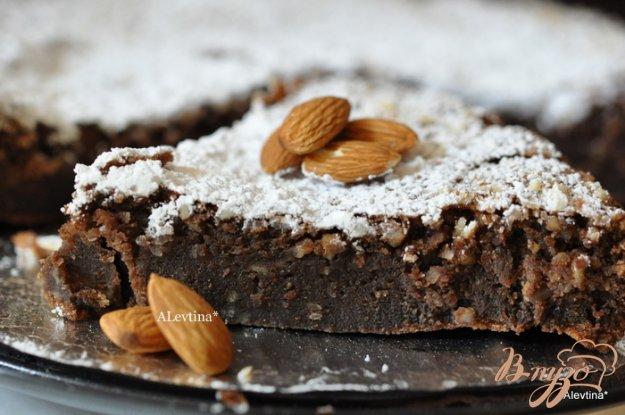 Рецепт Шоколадный миндальный торт
