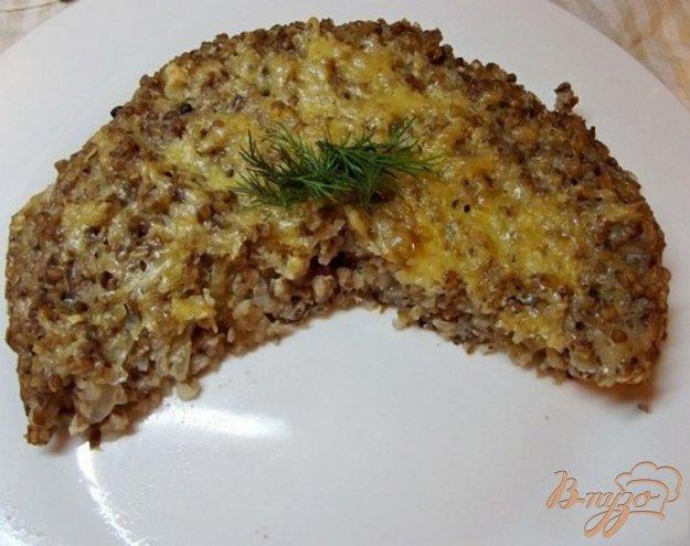 Рецепт Запеканка из гречки