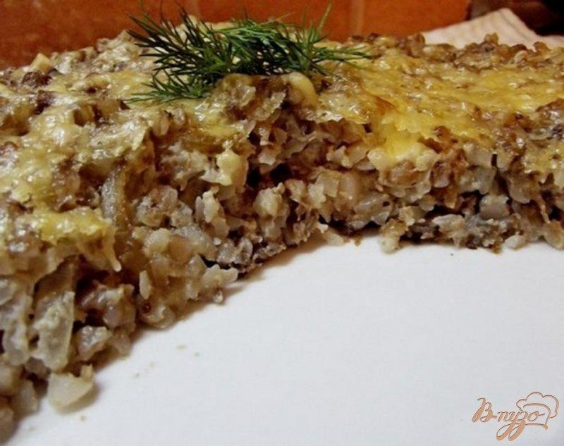 Фото приготовление рецепта: Запеканка из гречки шаг №8