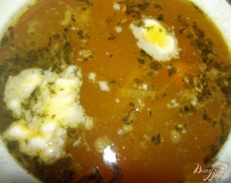 Фото приготовление рецепта: Суп из тыквы с маслом шаг №5