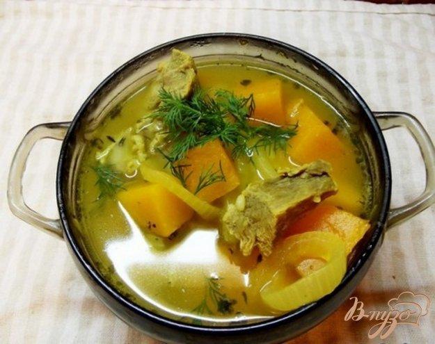 фото рецепта: Суп из тыквы с маслом