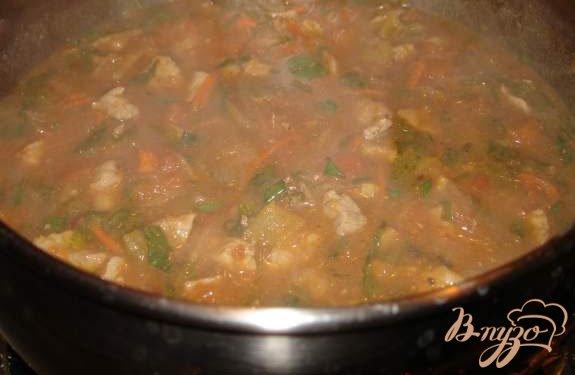 Фото приготовление рецепта: Лагман по-казахски шаг №7