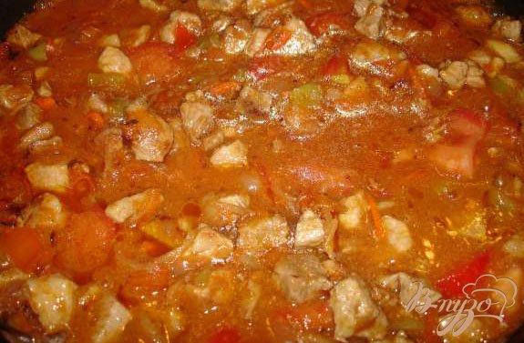 Фото приготовление рецепта: Лагман по-казахски шаг №5