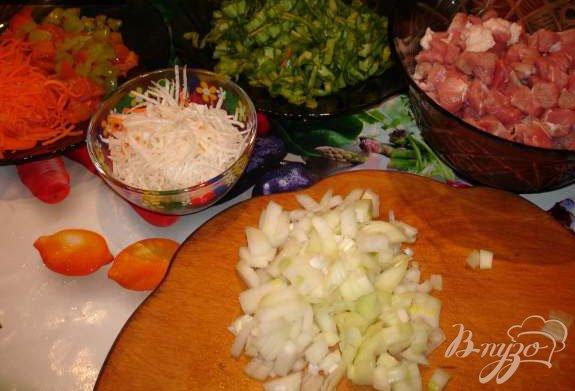 Фото приготовление рецепта: Лагман по-казахски шаг №2