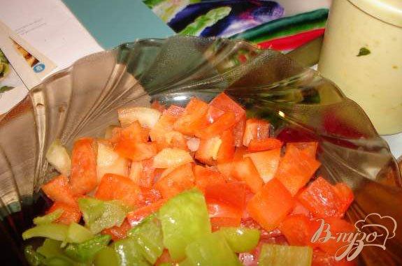 Фото приготовление рецепта: Сочные медальоны из курины (индейки) с ананасом шаг №3