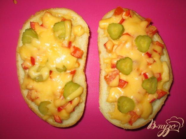 Рецепт Горячий бутерброд по-итальянски