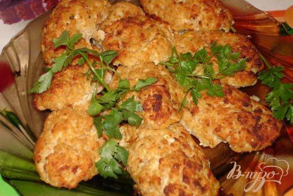 Рецепт Печеные котлеты с сыром