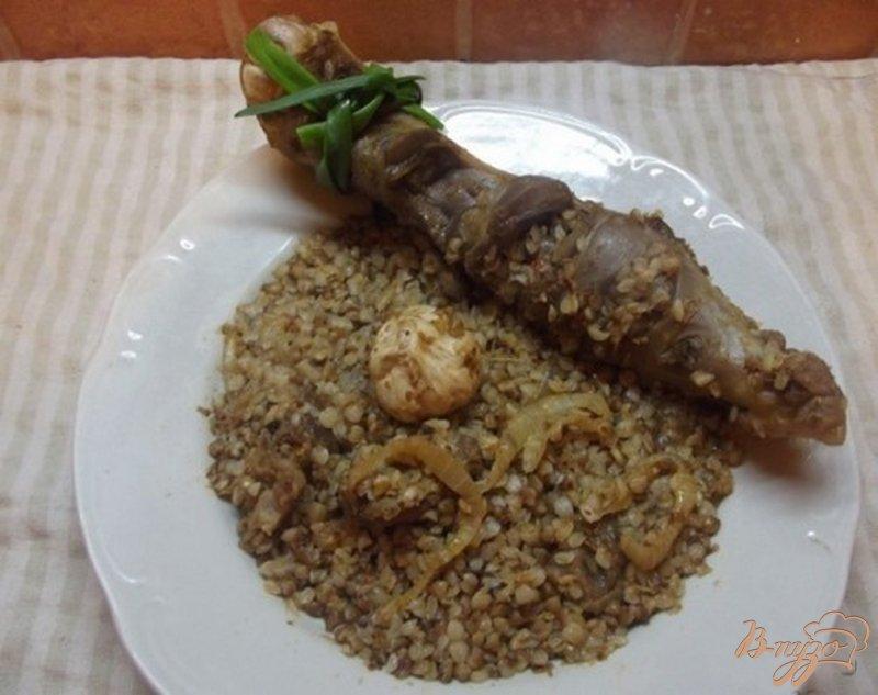 Фото приготовление рецепта: Плов из гречки с бараном шаг №9