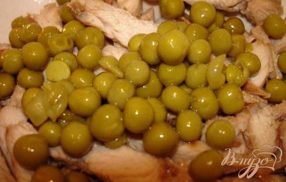 Фото приготовление рецепта: Салат с брокколи шаг №4