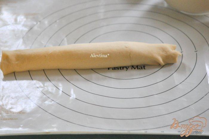 Фото приготовление рецепта: Булочки со сливочным сыром шаг №6