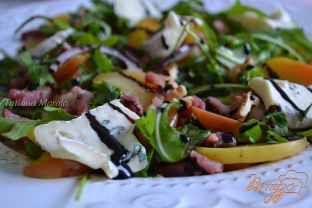 Рецепт Салат с яблоком и ветчиной
