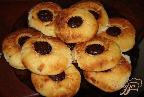 Рецепт Печеные сырники с шоколадом