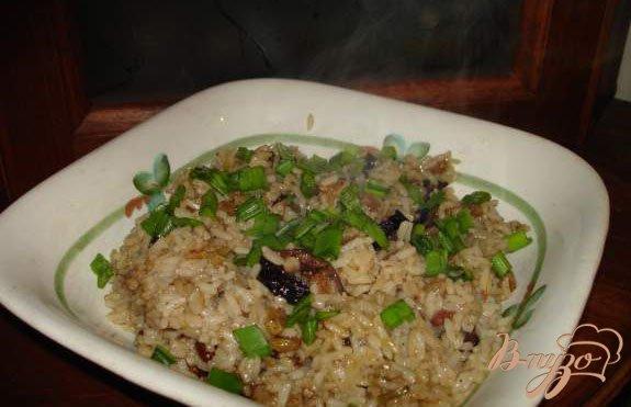 фото рецепта: Рис с сухофруктами