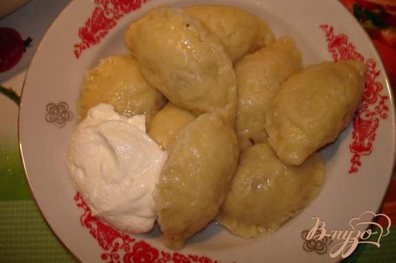 Рецепт Вареники с картошкой и грибами