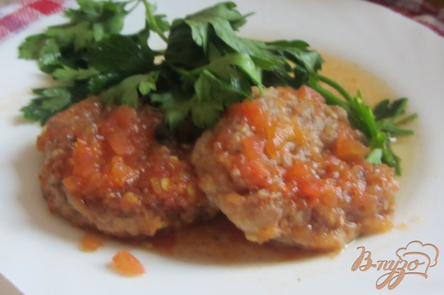 Рецепт Рыбные котлетки в томатной подливке