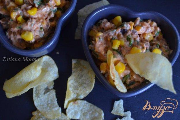 фото рецепта: Закуска из авокадо с рыбой