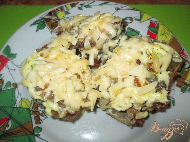 Рецепт Горбуша под шубкой из майонеза и сыра