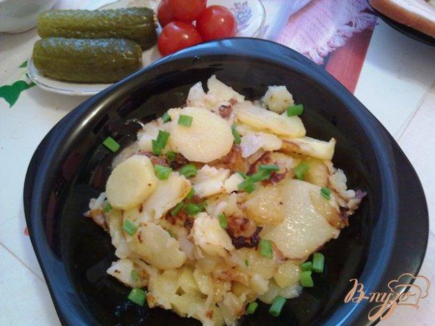 фото рецепта: Жаренный картофель