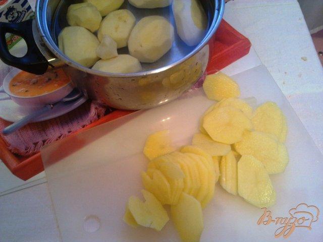 Фото приготовление рецепта: Жаренный картофель шаг №1