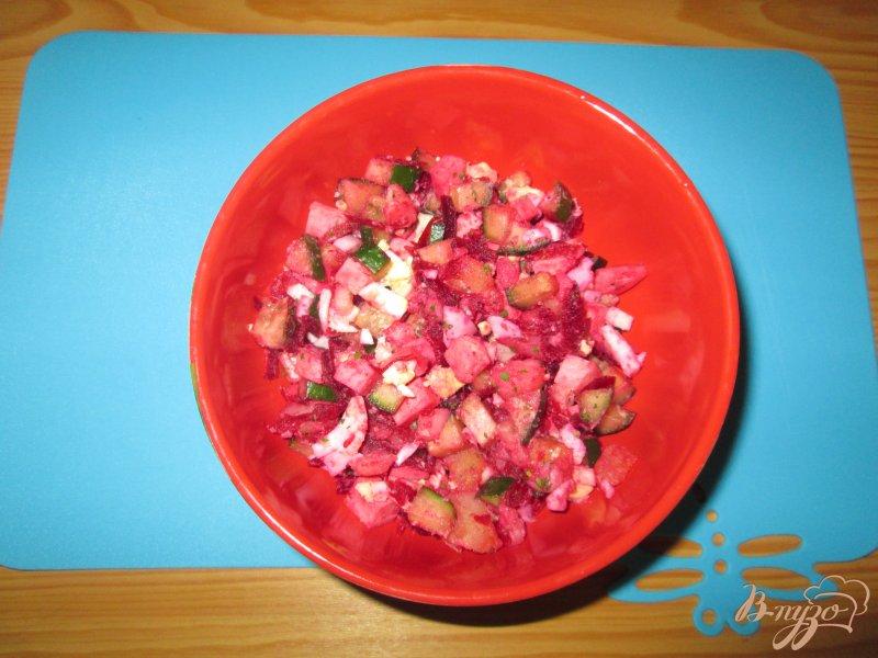 Фото приготовление рецепта: Свекольник - холодный суп шаг №6