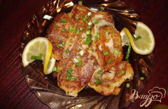 Фото приготовление рецепта: Морской окунь в кляре шаг №3