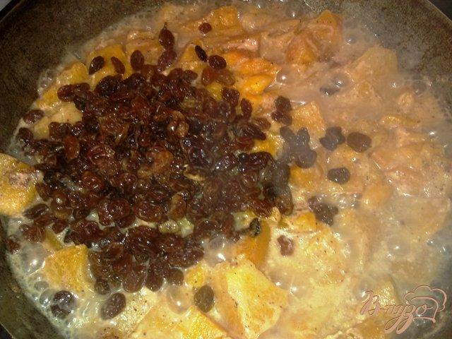 Фото приготовление рецепта: Ореховый кекс с тыквенной начинокй шаг №5