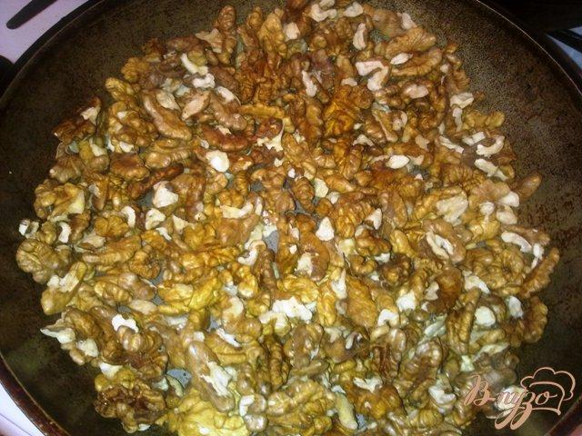 Фото приготовление рецепта: Ореховый кекс с тыквенной начинокй шаг №1