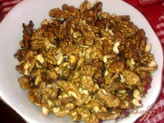 Фото приготовление рецепта: Ореховый кекс с тыквенной начинокй шаг №4