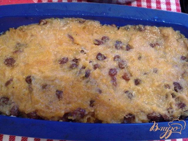 Фото приготовление рецепта: Ореховый кекс с тыквенной начинокй шаг №10