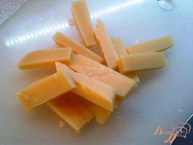 Фото приготовление рецепта: Сырная тарелка шаг №2