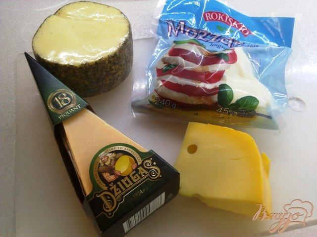 Фото приготовление рецепта: Сырная тарелка шаг №1