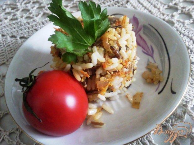 Рецепт Гарнир из риса и овощей
