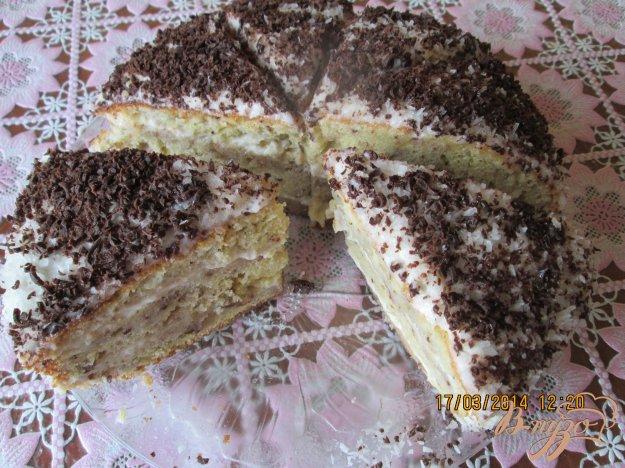 Рецепт Бисквитный торт с сметаным кремом