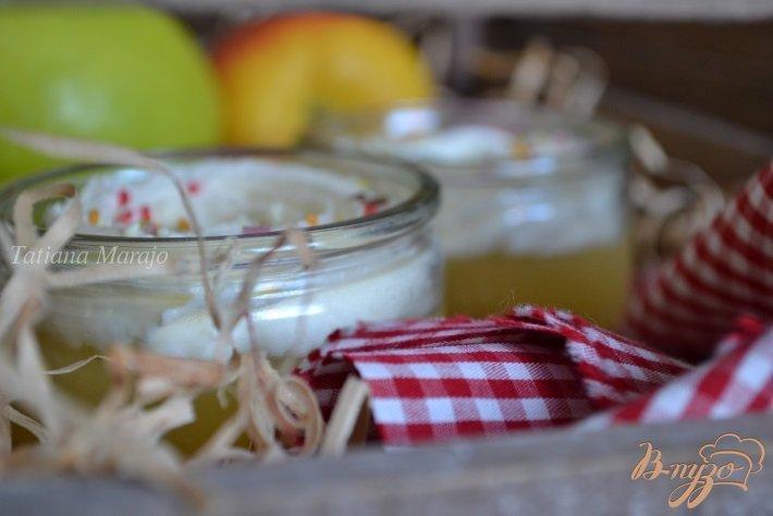 Фото приготовление рецепта: Яблочный десерт шаг №8