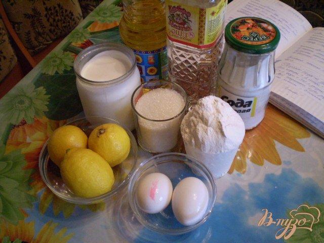 Фото приготовление рецепта: Лимонный пирог шаг №1